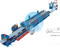 silo plate roll forming line