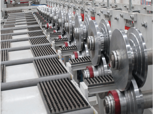 TF silo roofing profile roll forming line