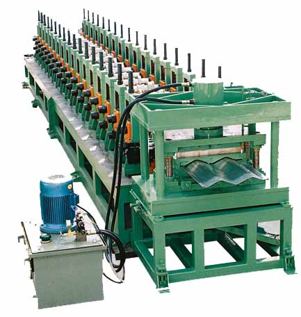 ZT24 collecting electrodes roll forming machine