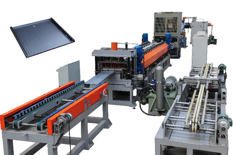 TF600X shelve roll forming line