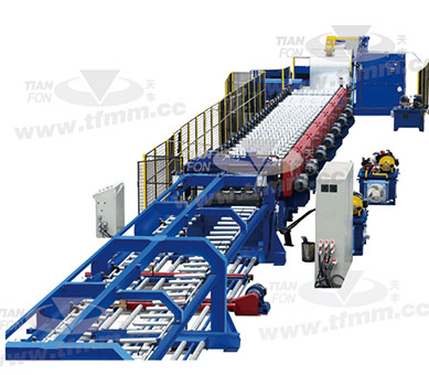 Steel structure floor roll forming machines