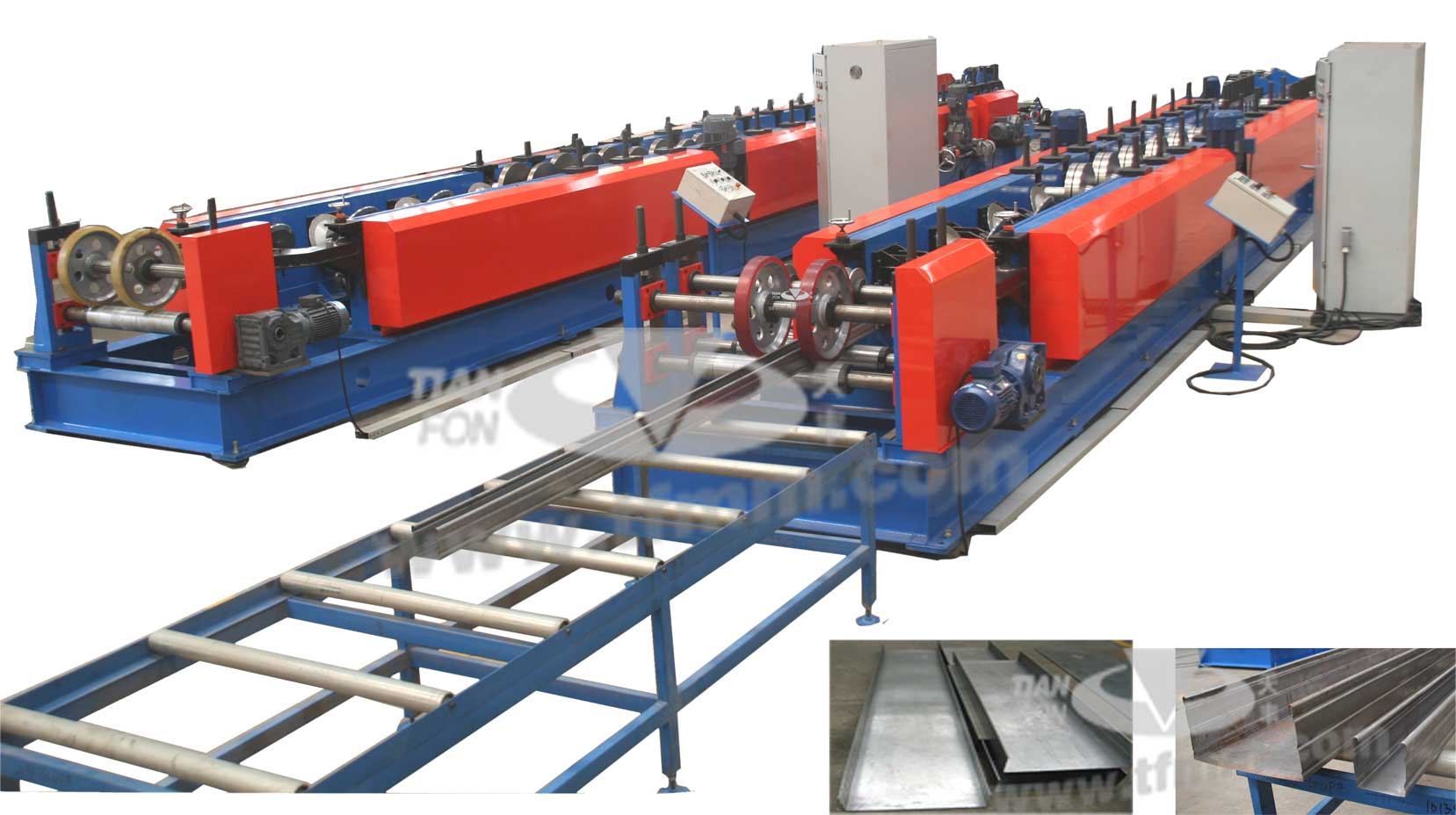 cable bridge roll forming line