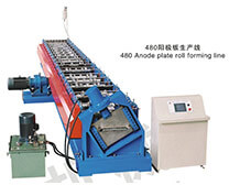 480 collecting electrodes roll forming machine
