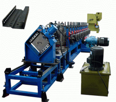Electric cabinet pillar roll forming machine